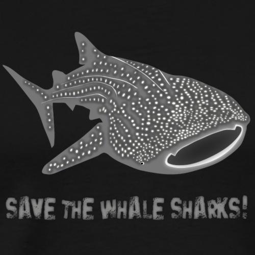 walhai wal hai fisch whale shark taucher tauchen - Männer Premium T-Shirt