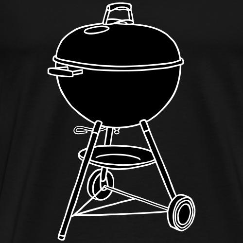 Grill, BBQ 2 - Männer Premium T-Shirt