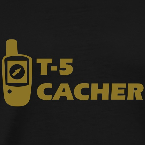 Geocaching GPS Terrain 5 Geocacher - Männer Premium T-Shirt