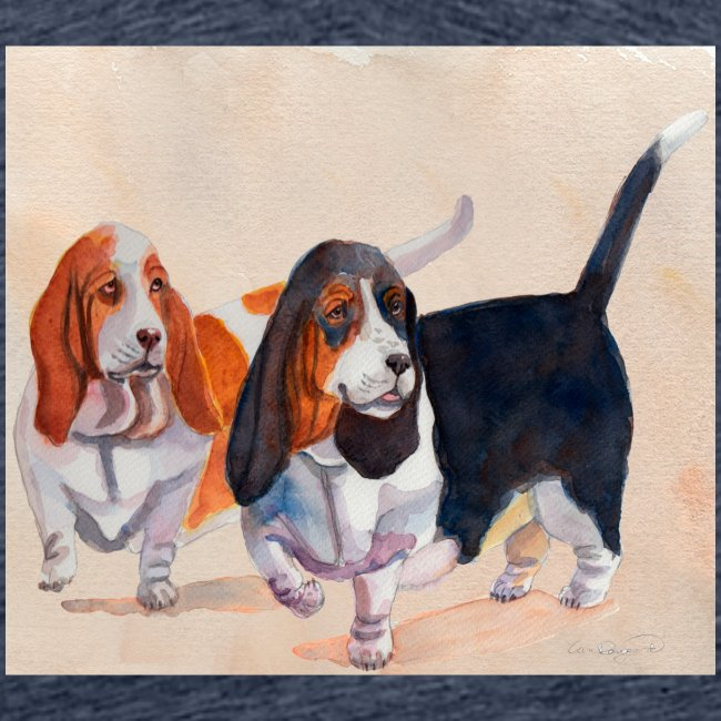 Basset hound_double-trot