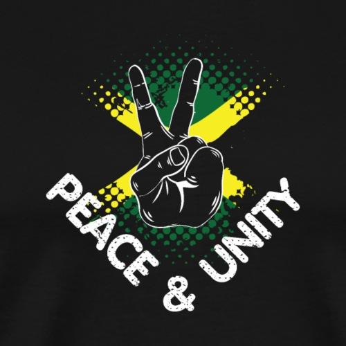 Peace & Unity - Männer Premium T-Shirt