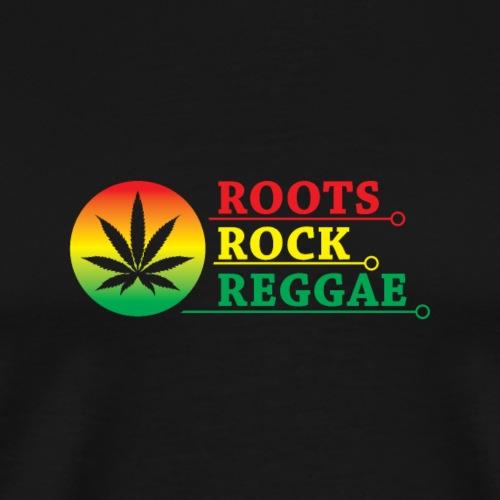 Roots Rock Reggae - Männer Premium T-Shirt
