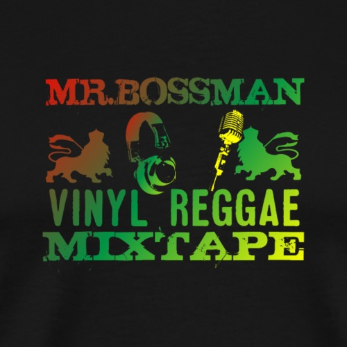 Mister Bossman V4 - Männer Premium T-Shirt