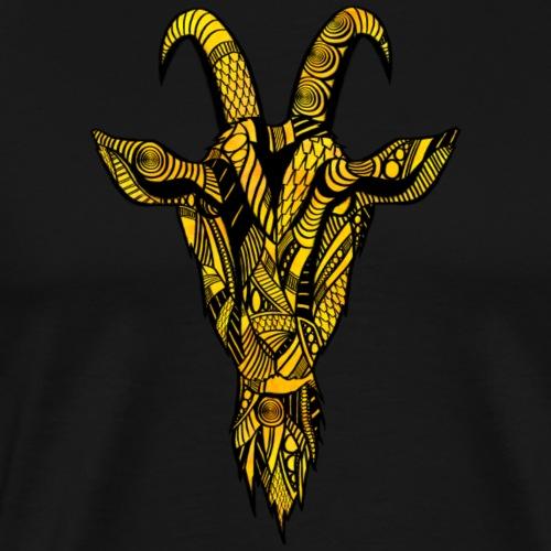 Geit - Premium T-skjorte for menn