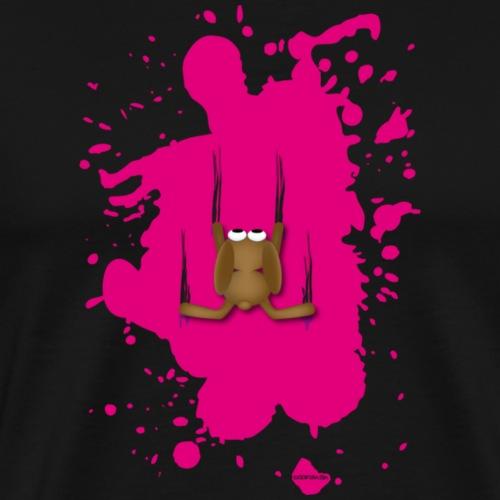 P.T. Platsch rot hase bunny kainchen Karnickel - Männer Premium T-Shirt