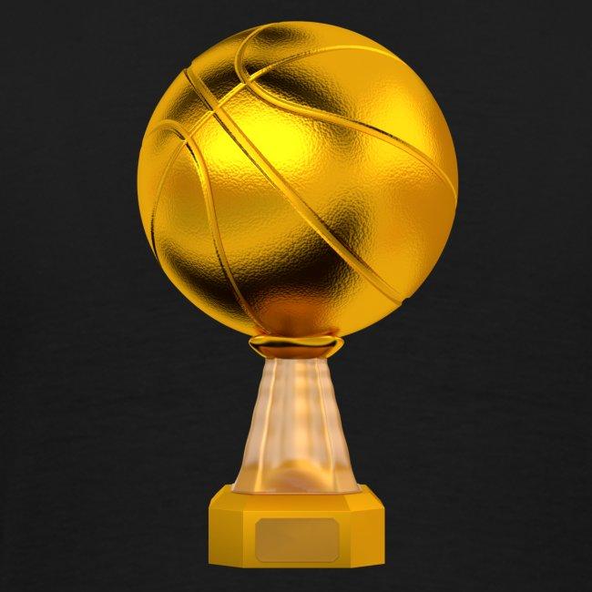 Basketball Golden Trophy