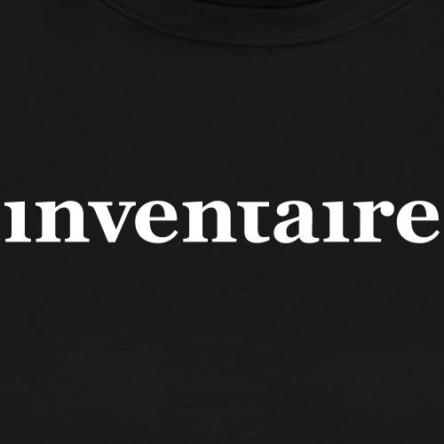 inventaire - T-shirt Premium Homme