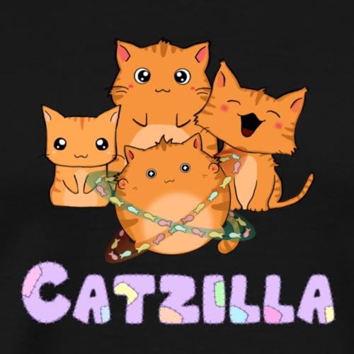 Catzilla cats - Men's Premium T-Shirt