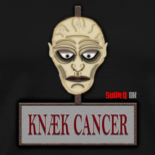 Knæk Cancer Kollektion ! - Herre premium T-shirt