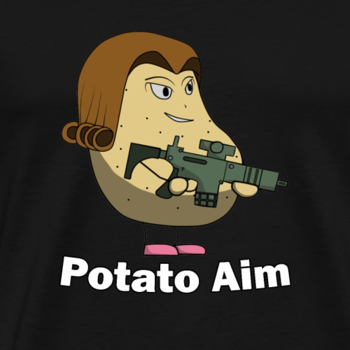 Mrs Potato Aim - Men's Premium T-Shirt