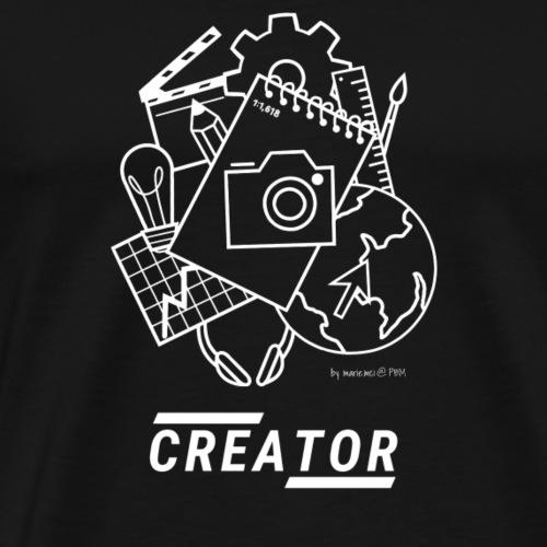 CREATOR by marie.mci - Männer Premium T-Shirt