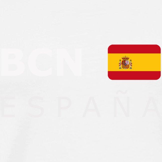 BCN ESPAÑA white-lettered 400 dpi