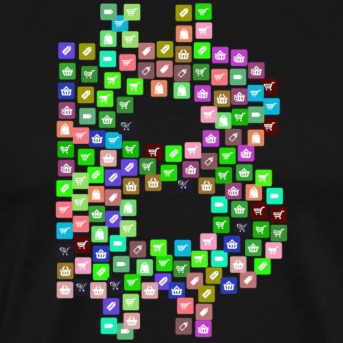 Bitcoin 22 - Männer Premium T-Shirt