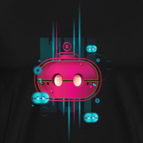 KAISERBOT Magenta - Men's Premium T-Shirt
