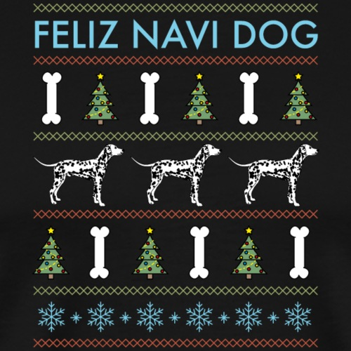 Dalmatian - Feliz Navi Dog - Premium-T-shirt herr