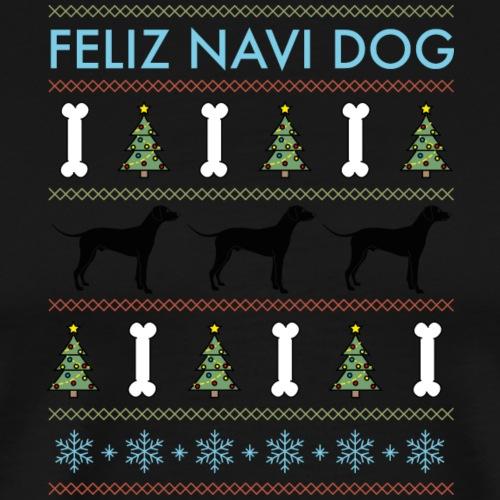 Feliz Navi Dog - Premium-T-shirt herr