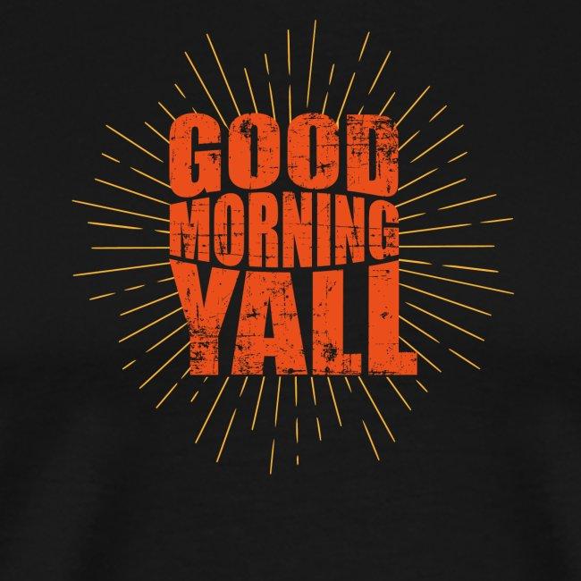 Guten Morgen Sprüche Büro Männer Premium T Shirt