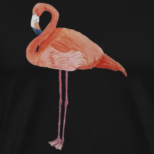 flamingo - Herre premium T-shirt