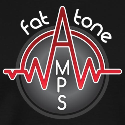 Fat Tone Amps logo - Men's Premium T-Shirt