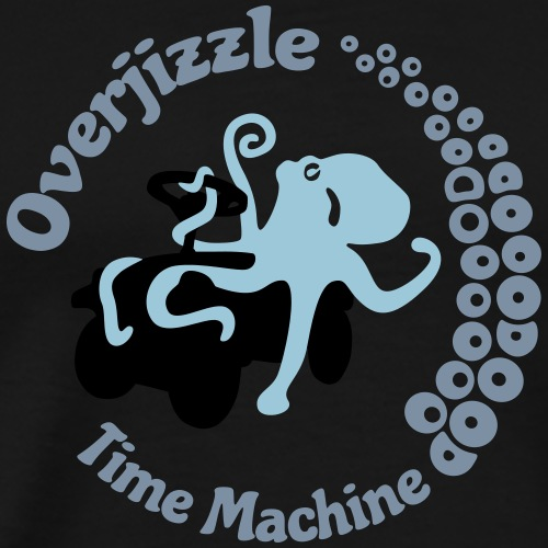 Overjizzle Time Machine - Männer Premium T-Shirt