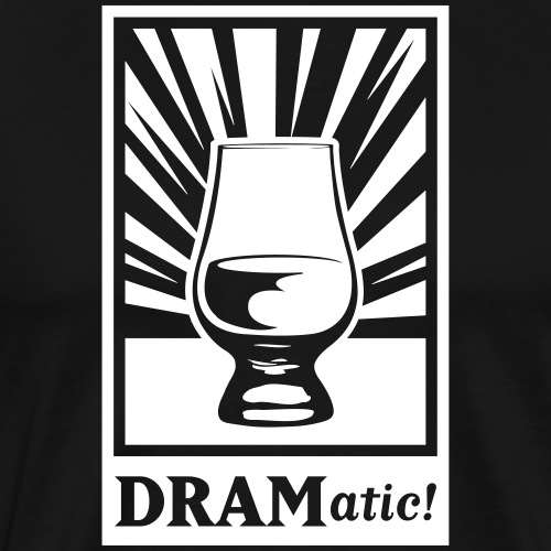 Dramatic_Light - Männer Premium T-Shirt