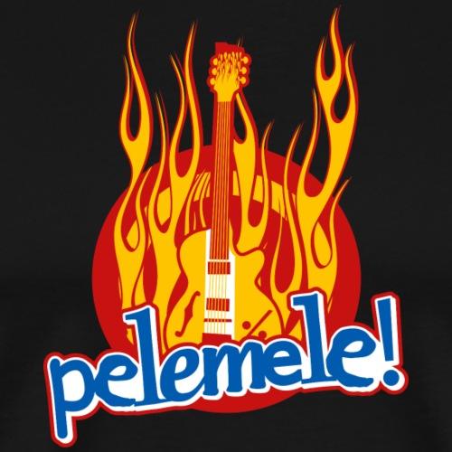 Pelemele! Flammenshirt - Männer Premium T-Shirt