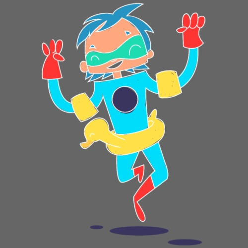 super Hero kawaii 3 - T-shirt Premium Homme