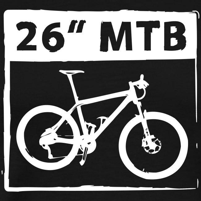 """26"""" MTB 1C Cut"""