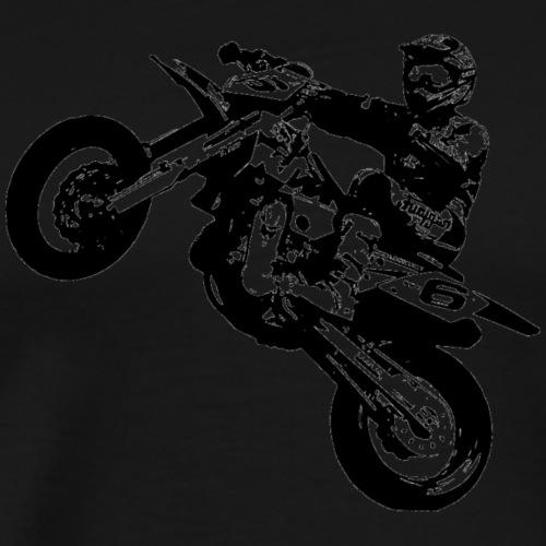 Black Motorbike - Männer Premium T-Shirt