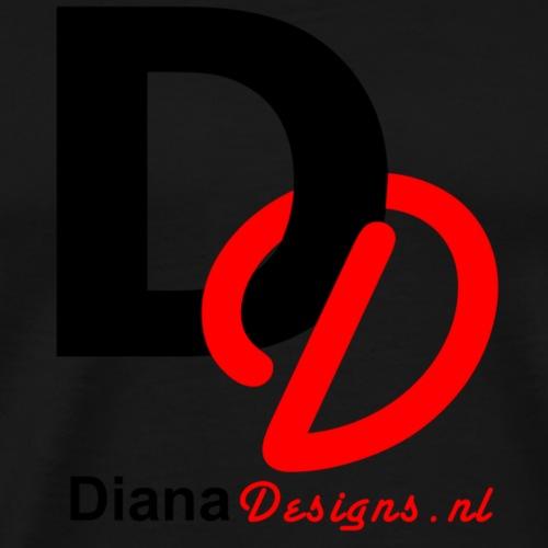 logo_diana_designs-nl - Mannen Premium T-shirt