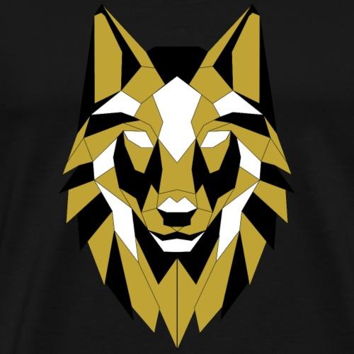 Géometrical Wolf - T-shirt Premium Homme