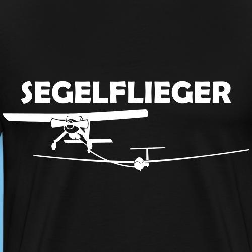 Segelflieger Segelfliegen Segelflugzeug Geschenk - Männer Premium T-Shirt