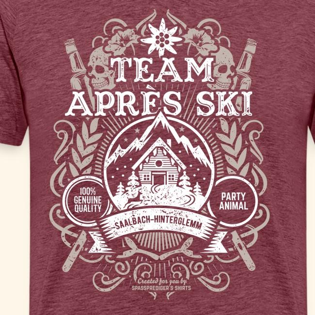 Saalbach-Hinterglemm Apres Ski T Shirt   Party