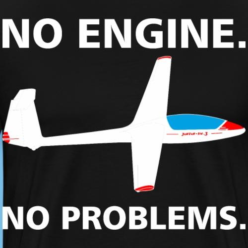 kein Motor kein Problem Segelflieger gleiten - Männer Premium T-Shirt