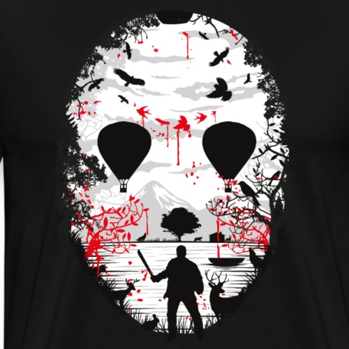 Crystal Lake - Männer Premium T-Shirt