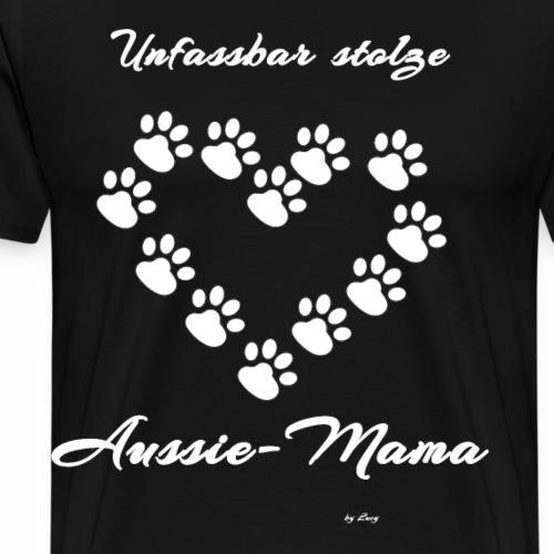 Unfassbar stolze Aussie Mama - Männer Premium T-Shirt
