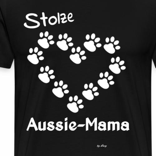 Stolze Aussie Mama - Männer Premium T-Shirt