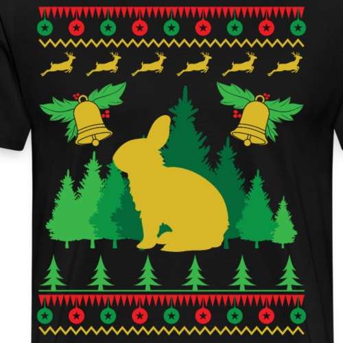 Weihnachtspulli Osterhase - Männer Premium T-Shirt