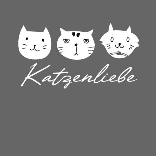 Katzenliebe - i love cats - Männer Premium T-Shirt