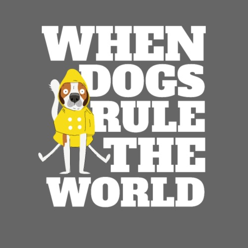Lustiger Hunde Spruch Lustiges Hunde Geschenk - Männer Premium T-Shirt