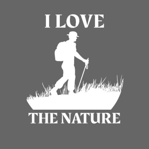 Naturliebhaber - Ich liebe die Natur - Männer Premium T-Shirt