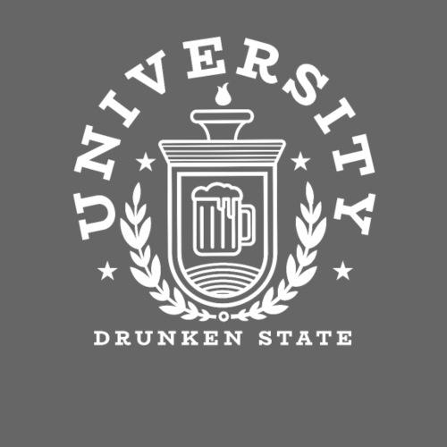 University Drunken State - Männer Premium T-Shirt