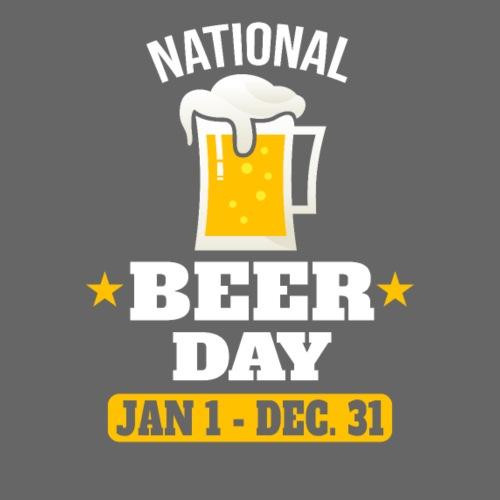 National Beer Day - Männer Premium T-Shirt
