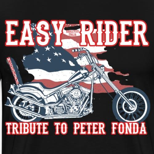 Easy Rider - A Tribute to Peter Fonda by Mescal - Maglietta Premium da uomo