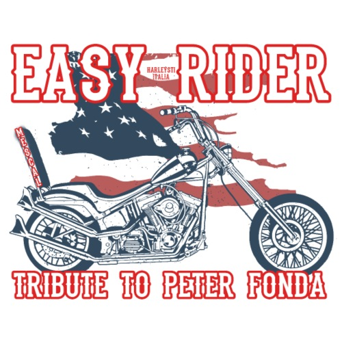 Easy Rider - A Tribute to Peter Fonda by Mescal - Maglietta Premium da uomo