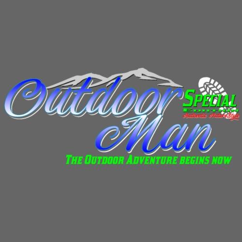 Special Edition Outdoor Man Wandern Vatertag - Männer Premium T-Shirt