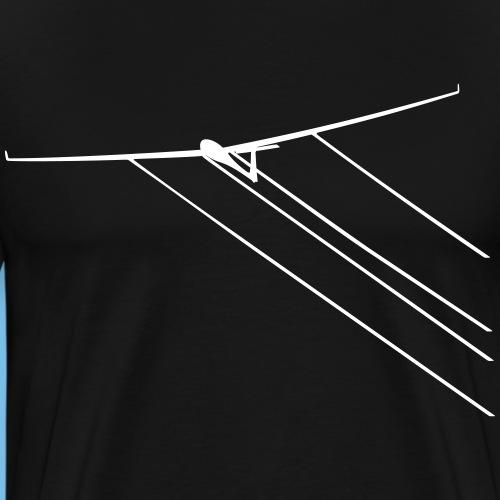 Wasser Segelflugzeug Segelflieger Geschenkidee - Männer Premium T-Shirt