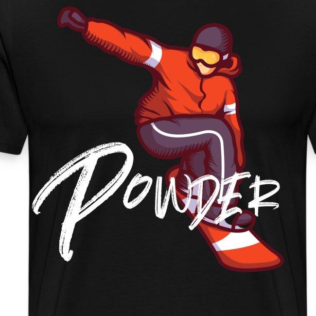 Powder Snowboarder