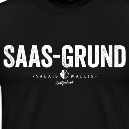 SAAS-GRUND - Männer Premium T-Shirt