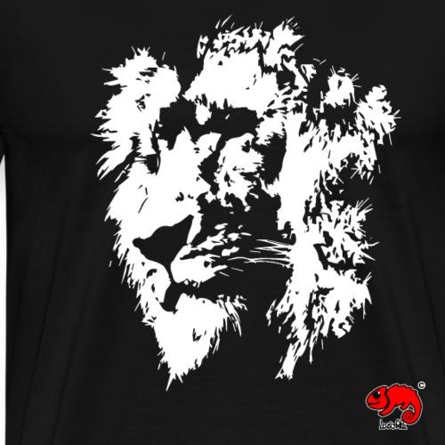 lion white - Maglietta Premium da uomo